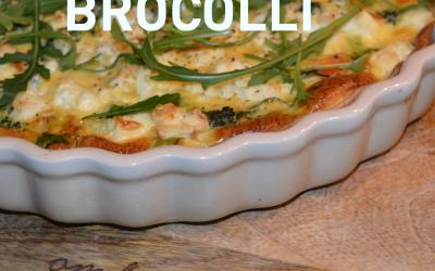 Quiche met broccoli