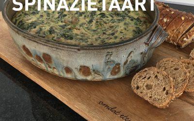 Hartige spinazietaart