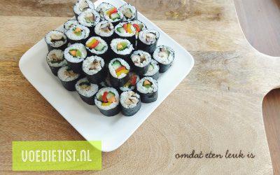 Recept: FODMaP-arme sushi