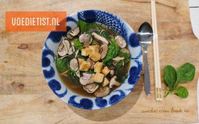 Recept: Vega(n) miso soep
