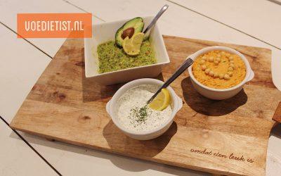 Recept: 3x zelfgemaakte spreads/dips