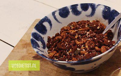 Recept: Zelfgemaakte granola zonder toegevoegde suikers