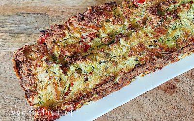 Recept: Koolhydraatarm courgettebrood