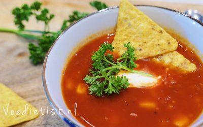 Recept: Vegetarisch Mexicaanse soep